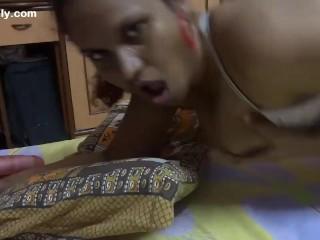 Indian crotchless panties