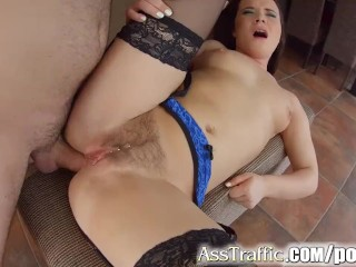 AssTraffic Czech Wendy Moon does ass to mouth and cum swallow