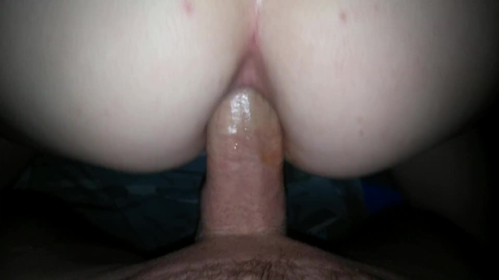Riding the dick in anal sex ;)