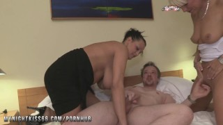 Preview 3 of Nightkiss66 - German milf threesome with a couple