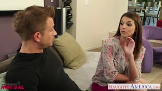 Preview 1 of Busty Brooklyn Chase gets nailed and facialized