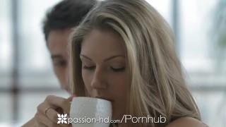 HD Passion-HD - Anjelica enjoys some big dick hotel lobby lust