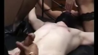 Lady Sonia Femdom Handjob Compilation  latex gloves teasing slave femdom mom ffm handjob 3some mature compilation bondage stockings big boobs jerking blind folded lady sonia
