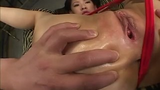 Milf with hot ass receives toys inside dildo mother vibrator oiled-body milf nice-ass mom alljapanesepass toy-insertion lubricant sex-toys gaping-hole