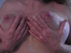 My Lovely Natural Breasts Dripping Milk