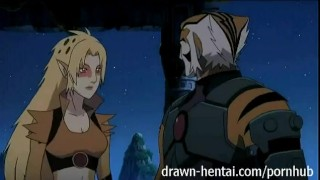 Thundercats Hentai - Cheetara says thanks