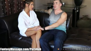 Preview 3 of FantasyMassage August Ames Erotic Masseuse