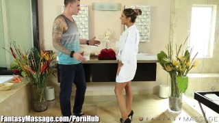 Preview 5 of FantasyMassage August Ames Erotic Masseuse
