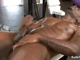masturbation Gay movie muscle man