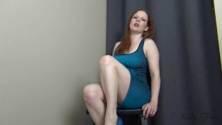 Trial by Fire CBT Jerk Off Instruction Ruin Orgasm Edging  big tits homemade edge redhead femdom mom amateur milf edging webcam dom joi heels mother jerk off instruction
