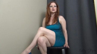 Trial by Fire CBT Jerk Off Instruction Ruin Orgasm Edging  big tits homemade redhead femdom mom amateur milf webcam mother jerk off instruction heels edging dom joi edge