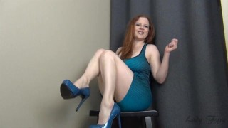Trial by Fire CBT Jerk Off Instruction Ruin Orgasm Edging  big tits homemade redhead femdom mom amateur milf edging webcam dom joi heels mother edge jerk off instruction
