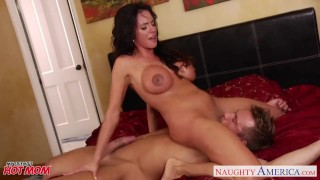 myfriendshotmom colombian mom cougar huge tits mother naughty america ariella ferrera brunette tit fuck hardcore blowjob big tits milf riding cowgirl doggy style cumshot