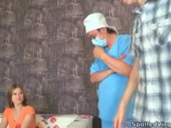 Spoiled Virgins – Augustina takes two loads