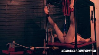 Femdom Slave get's machine pegged and fucked by Norwegian MonicaMilf  monica milf norway mistress domination fleshlight bdsm femdom mom fucking machines kink mother bondage femdom pegging norwegian monicamilf norsk porno scandinavian milf monica