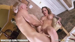 Payton West cuckolds her husband - Brazzers  big tits rimjob blonde tattoo big dick milf pussy licking big boobs titty fucking ass licking brazzers raw cuckolds shaved pussy