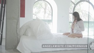 Big Tit Australian Angela White Masturbating in Bed  big natural tits big tits masturbation masturbate solo busty curvy porn star brunette big boobs erotic aussie australian all natural natural tits angelawhite classy huge tits