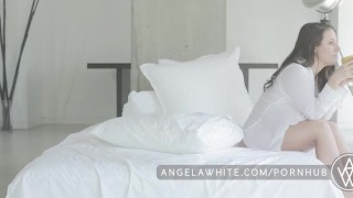 Big Tit Australian Angela White Masturbating in Bed  big natural tits big tits masturbation erotic australian masturbate solo classy busty curvy porn star brunette big boobs aussie all natural natural tits angelawhite huge tits
