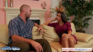 Preview 1 of Brunette Rachel Starr fuck her lucky neighbor