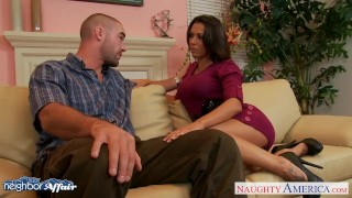 Preview 3 of Brunette Rachel Starr fuck her lucky neighbor