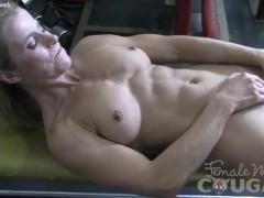 Mature Claire Masturbates in the Gym