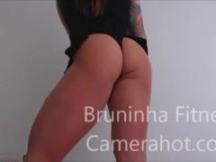 Upskirt dancing - Big brazilian butt lingerie