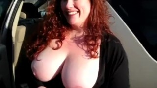 Housewife Has first Gloryhole Experience redhead homemade homegrownvideo big tits amateur blowjob gloryhole jizz big boobs cumshot chubby bbw housewife busty