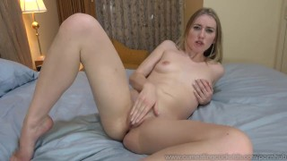 Riley Reynolds Creampied By Black Cock In Front Of Husband  doggy style big cock masturbation creampie cuckold wife blonde blowjob cumeatingcuckolds interracial threesome cum eating pussy eating cum cleanup husband squirt