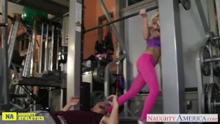 Preview 1 of Athlete babe Marsha May fucking