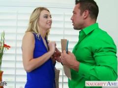 Wife Natalia Starr gets tits fucked