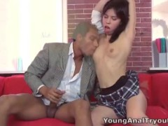 Young Anal Tryouts - Young anal tryouts is all about getting anal virgins