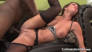 PornstarPlatinum - Veronia Avluv with big black cock
