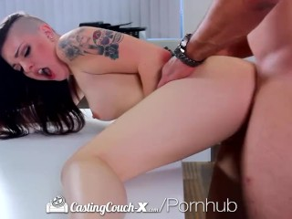 Hd castingcouch-x - edgy rachael is having a blast at her audition