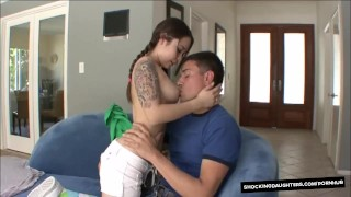 Little Cute Teenager Fucks Her Older Neighbor big-cock young hardcore asian shaved-pussy blowjob teen cute shockingdaughters pigtails cumshot tattoo pigtail natural-breasts teenager petite