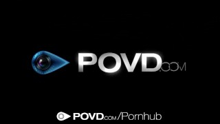 HD POVD - Anastasia Black shows her dripping pussy in the shower