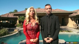 Brazzers- Brazzers House Full First episode  brunette reality pornstars big boobs brazzers house brazzershouse house big tits brazzers blonde