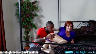 Veronica Avluv Squirts on Black Cuckold Cock  cum on ass milehighmedia bbc big-cock big-tits cuckold squirt redhead mom blowjob cumshot milf squirting interracial mother deepthroat big-dick high-heels