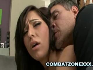 Reena Sky - Latina Teen Facialized By An Old Cock