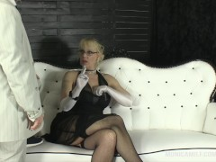 Monicamilf in a classic 30's porn vid from Norway – Pay for your pussy