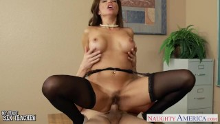 Naughty sex xxx teacher francesca le fucking