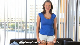 HD CastingCouch-X - Sweet Brooke Wylde shows big boobs in audition  hardcore brunette facial brooke wylde castingcouch x huge-tits big-tits hd big-boobs amateur blowjob