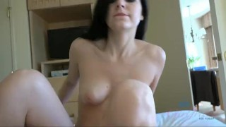 point of view cumshit blowjob handjob atkgirlfriends cock sucking oral big dick brunette amateur pov doggy style raw shaved pussy reverse cowgirl cumshot