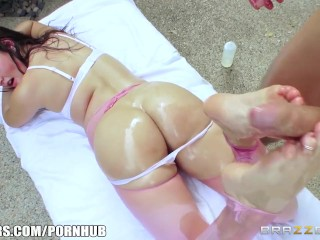 Allie Haze needs a cock in her ass - Brazzers