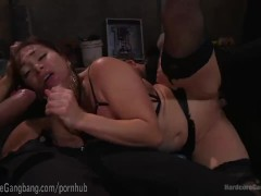 Lea Lexis Gets Her Dream Gangbang