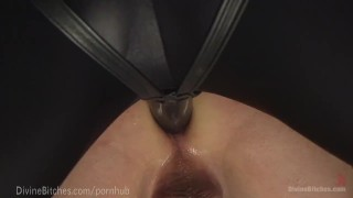 Muscled Dominatrix Wrestles Slaveboy domination femdom divinebitches goddess kink slaveboy dominatrix bdsm gagged bondage anal doggy style submission power wrestling humiliation