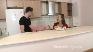 Agneta enjoys a hard fucking from her man