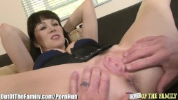 MILF rides Son-in-laws Cock with Ass