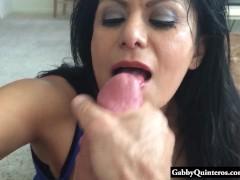 Big Tit Mexican Gabby Quinteros Big Dick POV