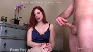 Cuckold and Encouraged Bi Sampler by Lady Fyre  olivia fyre lady fyre hairy pussy cuckold humiliation redhead femdom nylon gym big dick kink joi encouraged bi personal trainer bisexual cuckold cheating wife