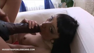 Leila gets anal gaped by Kate with a huge strapon dildo  strap on lesbian anal gape lesbian strap on strapon dildo ride dildo asian anal extreme insertion anal gape asian anal ass to mouth hugestraponlesbians brutal dildo huge dildo lesbian strapon